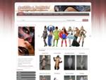 Alugar fantasias, fatos de carnaval, perucas para festas, mascaras de horror, acessorios de ...