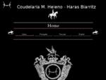 COUDELARIA MANUEL HELENO, HARAS BIARRITZ, STUD MH, YEGUADA MH