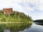 Country Camping Tiefensee Urlaub in Brandenburg nordoestlich von Berlin