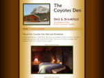 The Coyote's Den - Bed and Breakfast Guest House Accommodation in Field, BC - Yoho National Park
