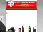 Two Way Radio Satellite Telephone Communication
