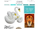 crave home – cool, colourful and contemporary gift store