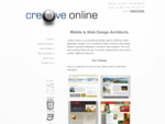 Cre8ve Online Mobile Web Design Architects in Matakana, Auckland, NZ