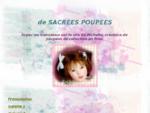 Michelle Fresne, poupee d'artiste en polymer, clay dolls, poupeacute;es anciennes, ours
