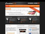 CreationClic, création de sites internet, personnalisation de templates et graphisme web à Annemas