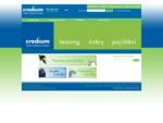 Credium – úvěry, leasing, pojištění