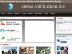 Crema Costruzioni snc vendita diretta di case e appartamenti a Treviso