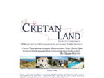 Cretan Land Property Consultants Real Estate Company in Greece
