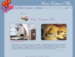 . Welcome to Cretan Traditional Villas.