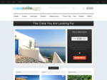 Crete Hotels Rooms. Small hotels villas in Crete.