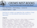 Crows Nest Books