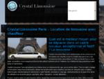 Limousine avec chauffeur - location limousine - Crystal Limousine Paris