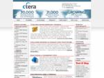 Archiwizacja i backup danych CTERA zapewnia automatyczne tworzenia kopii danych ze stacji roboczych