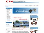 Części do narzedzi Bosch, Makita, DeWalt, Metabo ctn elektro-serwis poznań