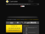 Cuemaster - Cuemaster provides solutions for the serious tv event professional