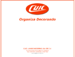 CUIC-Organiza Decorando