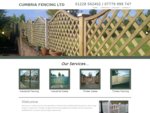 Welcome to Cumbria Fencing Ltd