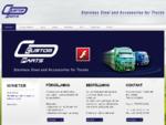 Sweden Custom Parts | Örebro, tillbehör, lastbilar, avgassystem, frontbågar, takbågar