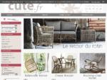 Cute. fr la décoration d'intérieur, meuble de charme à petits prix et canapé home spirit