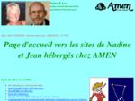 Site familial de Nadine Denat et Jean Le Brun - Page d'accueil.