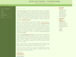 Zarz261;dzanie Finansami