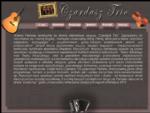 Czardasz Trio zespół instrumentalny muzyka cygańska żydowska rosyjska, węgierska rumuńska czardasze