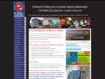 Diamond Drilling, Brokk Demolition, Surface Preparation, Contractors, UK call 0800 612 8219