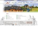Dach-Gont - domy z bali, BUDOWA DOMÓW Z BALI, usługi ciesielskie, domy drewniane góralskie, karcz