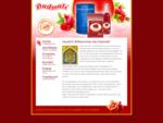 Dadmali-Granatapfelsaft. Gesundheit, die schmeckt!