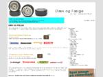 Dæk og fælge - din guide til dæk og fælge, alufælge, vinderdæk og sommerdæk