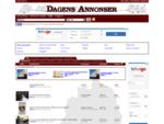 Dagens Annonser - Gratis Annonsmarknad