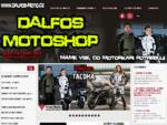 DALFOS MOTOSHOP - Moto oblečení, vybavení a doplńky na motocykl - Maloobchod, Velkoobchod - MBW,