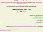 ESEM Research Laboratory