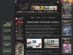 Moderne dansk kunstgalleri; Moderne abstrakte malerier online fra danske kunstnere.