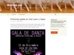 dansa. es   web del AMPA del Conservatorio Profesional de Danza de Novelda