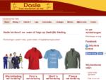 Dasle borduurt uw Naam of Logo op (bedrijfs) Kleding, Badstoffen, Breiwerk of ander Textiel. Bord