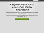 CzechHosting WebHosting MailHosting Domény