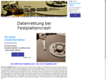 Datenrettung Rettung defekter Festplatten