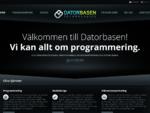 Programmering, webbdesign och sökmotoroptimering - Datorbasen