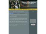 Daubert Genealogy Home Page Swastika Ontario Canada - Daubert Family Tree Index