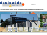 Construction béton, portail, clôture et automatismes Landes (40) à Tosse pour le professionnel et