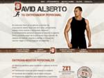 David Alberto - Tu entrenador Personal