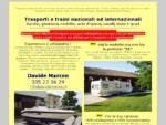 Trasporti barche, traini roulotte, trasporto auto d'epoca nel Veneto