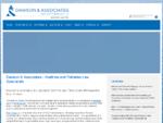 Dawson Associates   Dawson Associates, Maritime and Fisheries Law Specialists, Nelson Ne
