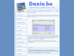 Daxio - informatieplatform voor dierenartsen