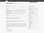 Home Page del motore DbfWeb