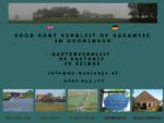 Vakantie in Nationaal Landschap Middag Humsterland in het Reitdiepdal Groningen