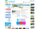 Dębki - WYJĄTKOWE hotele, pensjonaty, kwatery i noclegi