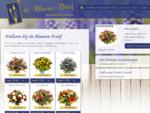 Online bloemen bestellen en bezorgen | DeBlauweDruif - bloemendecoraties