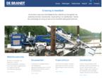 De Brandt | Kraanverhuur - Waterbouwkunde - Bouwkunde - Zandhandel